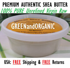 Raw African Shea Butter Organic 100% Pure Unrefined Virgin Ghana Skin Body Face