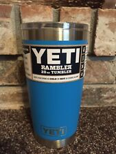 New! - 20 Oz. Yeti Rambler with MagSlider lid - Authentic Tahoe Blue!