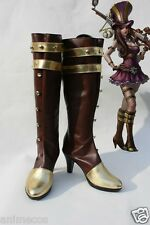 """League of Legends LOL Hero Caitlyn Cosplay Shoes Boots """"Custom-made"""""""