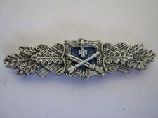 Nahkampfspange Silber Pin WH Wehrmacht WK2 WWII Silver Badge Abzeichen