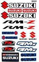 SUZUKI Aufkleber Motorrad FX Racing MX Helm AutoTuning Vinly Decals Stickers 123