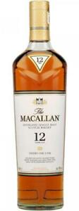 The Macallan 12 Year Old Sherry Oak 700mL Bottle