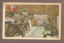Vintage Postcard 1953 Patton Museum War Trophies Fort Knox Kentucky
