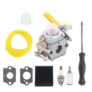 Carburetor Carb Set For Homelite Ryobi 26cc 30cc Zama C1U-H60 Trimmer Strimmer