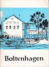 Chronik Boltenhagen, Ostseebad der Werktätigen, ein Wegweiser, 1981 Klütz