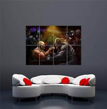 BANE VENOM ARM WRESTLE COMIC HERO FAN NEW GIANT WALL ART PRINT POSTER OZ122