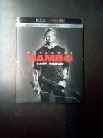 RAMBO: LAST BLOOD (4K ULTRA HD + BLU-RAY + SLIPCOVER) BRAND NEW SEALED