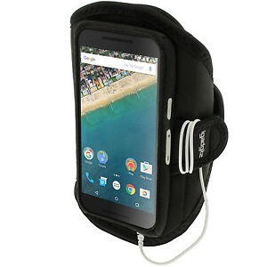 Running Jogging Sports Armband for LG Nexus 5X Fitness Gym Pouch Case Cover