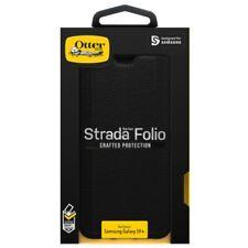 OtterBox Strada Leather Folio Wallet Case for Samsung Galaxy S9+ - Shadow