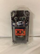 JVC XX XTREME XPLOSIVES Canal Deep Bass Earbuds Headphones + CASE. NEW. HA-FX1X