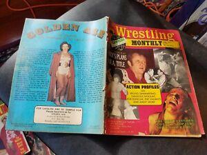 WRESTLING Monthly April 1975 Magazine Bruno Sammartino Moolah The Valiants