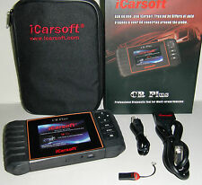 iCARSOFT CR Plus OBD2 Full Function Scan Tool ABS SRS Trans SAS Oil Brake Reset