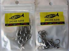 20X Size 1#  1/16 OZ  Jig Heads  High Chemically Sharpened Hooks Fishing Tackle