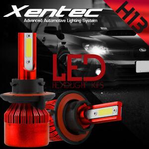 H13 9008 CREE LED Headlight Conversion Kit 488W 48800LM HI-LO Beam Bulbs 6000K