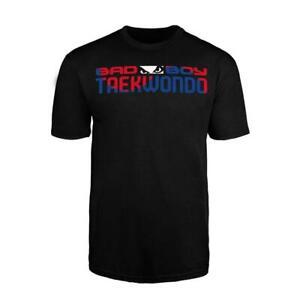 Bad Boy MMA Taekwondo T Shirt Casual Wear Clothing Top Martial Arts WTF ITF
