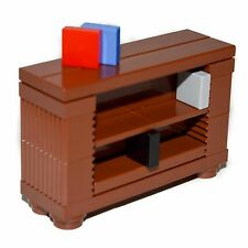 LEGO® Custom Furniture: Book Case (Brown) - Set w/ Instructions   [professional]