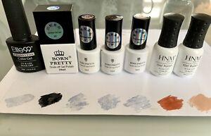 Gel UV LED Nail Polish x7 Born Pretty Elite99 HNM Soak Off