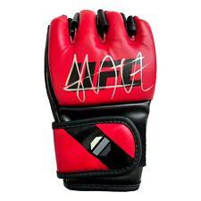 Khabib Nurmagomedov Signed UFC Red Glove Autograph 2 COAs JSA Inscriptagraphs