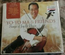 Yo-Yo-MA &Friends Songs of Joy & Peace CD New Sealed