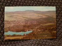 Pitlochry and Loch Faskally - Vintage Postcard