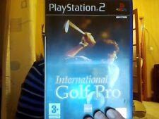 International Golf Pro - Jeu PS2