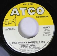 Soul 45 Arthur Conley - Love Sure Is A Powerful Thing / Star Review On Atco Reco
