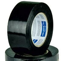 PE Klebeband schwarz 50mm x 50m zum Verkleben von Folien UV-beständig