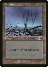 Magic MTG Tradingcard Urza's Saga 1998 Swamp 339/350