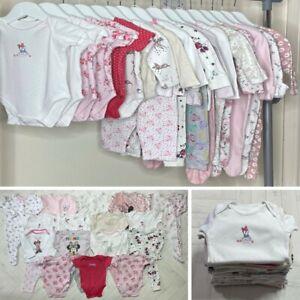 16x BABY GIRLS DISNEY VEST SLEEPSUIT & PYJAMAS NIGHTWEAR BUNDLE – 3-6 MONTHS