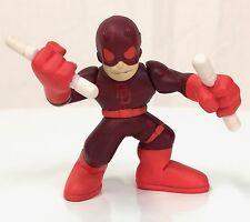 Marvel Super Hero Squad DAREDEVIL Red Costume White Sticks from Wave 2