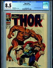 Thor #135 CGC 8.5 VF+1966 Silver Age Marvel Comics Amr B1