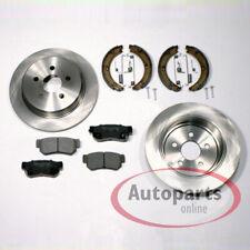 Hyundai Trajet - Discos de Freno Pastillas Backen Mano Accesorio Juego Trasero