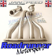 Janspeed Manifold & De-Cat Stainless Exhaust - Deletes Cat Mini One Cooper & S