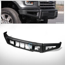Fits 15-17 Ford F150 Black Raptor Style Modular Full Width Steel Front HD Bumper
