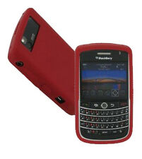 OEM NEW Dark Red Rubber Silicon Gel Skin Case Cover for Blackberry Tour 9630