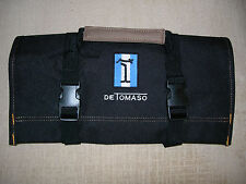 "DE TOMASO LOGO/ PANTERA ""NEW ALL BLACK"" !!!! TOOL ROLL"