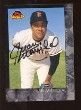 2001 Topps American Pie Autographed Card Juan Marichal NM/MT