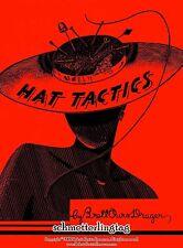 1950 Millinery Lessons HAT TACTICS Make 50s Retro Hats Pattern Book DIY Milliner