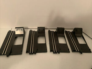 Artin Slot Car Track  One Lane Looping Track B Base Lot Of 4 Replacement Pieces