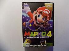 Mario 4 Space Odyssey Sega Genesis Mega Drive.