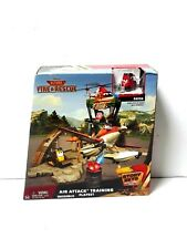 Disney Planes Fire & Rescue Air Attack Training Playset with Patch