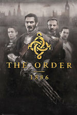 The Order 1886 Cover Key Art Maxi Poster 61x91.5cm FP3621