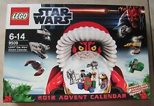 LEGO Advent Calendario Star Wars 9509 V. 2012 con Darth Maul OVP! molti personaggi!
