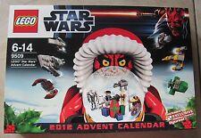 LEGO Adventskalender Star Wars 9509 v. 2012 mit Darth Maul OVP ! Viele Figuren !
