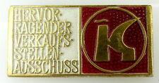 Abzeichen: Hervorragender Verkaufsstellenausschuss K e1701