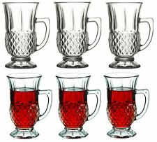 6pcs Pasabache Tea Glasses Set Of 6 Cups Turkish Tea Glass