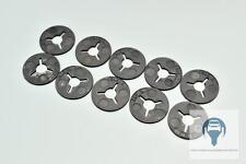 10x Anhängerkupplung Scheibe aus Kunstoff Clips 6N0129355