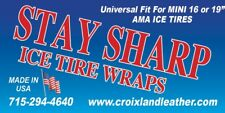 Stay Sharp MINI Ice Tire Wraps (pair) These Are The Good Ones