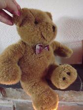 """L Gern Talking Teddy Bear  German,  16"""" Tall"""
