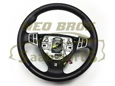 GENUINE SAAB 9-3 06-12 LEATHER SPORTS STEERING WHEEL, USED, 12774365